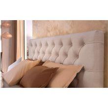 Κρεβάτι Monaco Ντυμένο Διπλό Ύφασμα Media strom 160x200cm