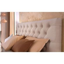 Κρεβάτι Monaco Ντυμένο Υπέρδιπλό Ύφασμα Media strom 170x200cm