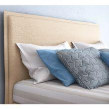 Κρεβάτι Sienna Ντυμένο Ημίδιπλο Ύφασμα Media strom 110-200cm