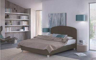 Κρεβάτι  Parma  Ντυμένο Μονό Ύφασμα Media strom 90-200×200 cm